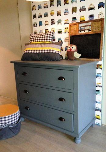 Antiek wit kinderbed brocante bed bedden  Kids  Pinterest
