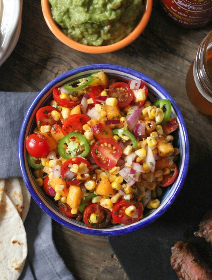 "Summer Mess"" Salsa. All your favorite summer produce (peaches ..."