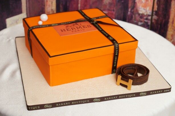 The Gift Box Cake