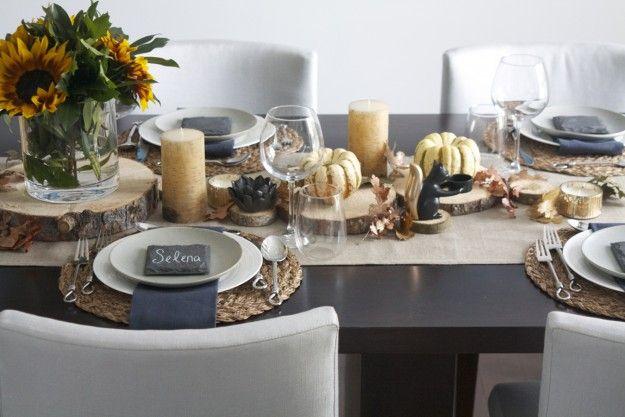 Thanksgiving Table Setting Table Settings Pinterest
