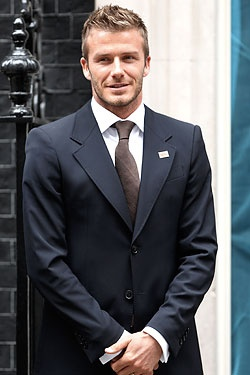 David Beckham - honestly not that crazy a fan, but looking at this picture. Uhm, yeah.
