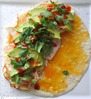 breakfast quesadilla. by adele | Food | Pinterest