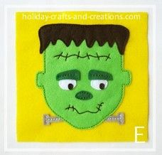 Found this cute free felt pattern! Time to make Ezra's Trick or Treat bag!!