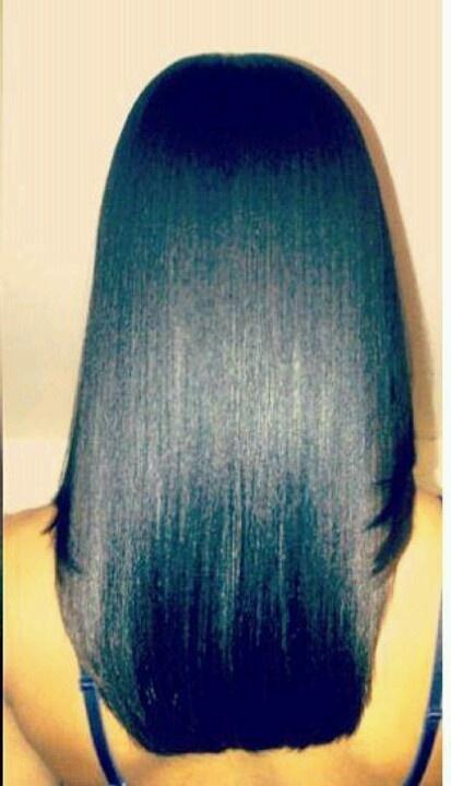 Healthy Hair : Healthy relaxed hair H a i r . H a v e n Pinterest
