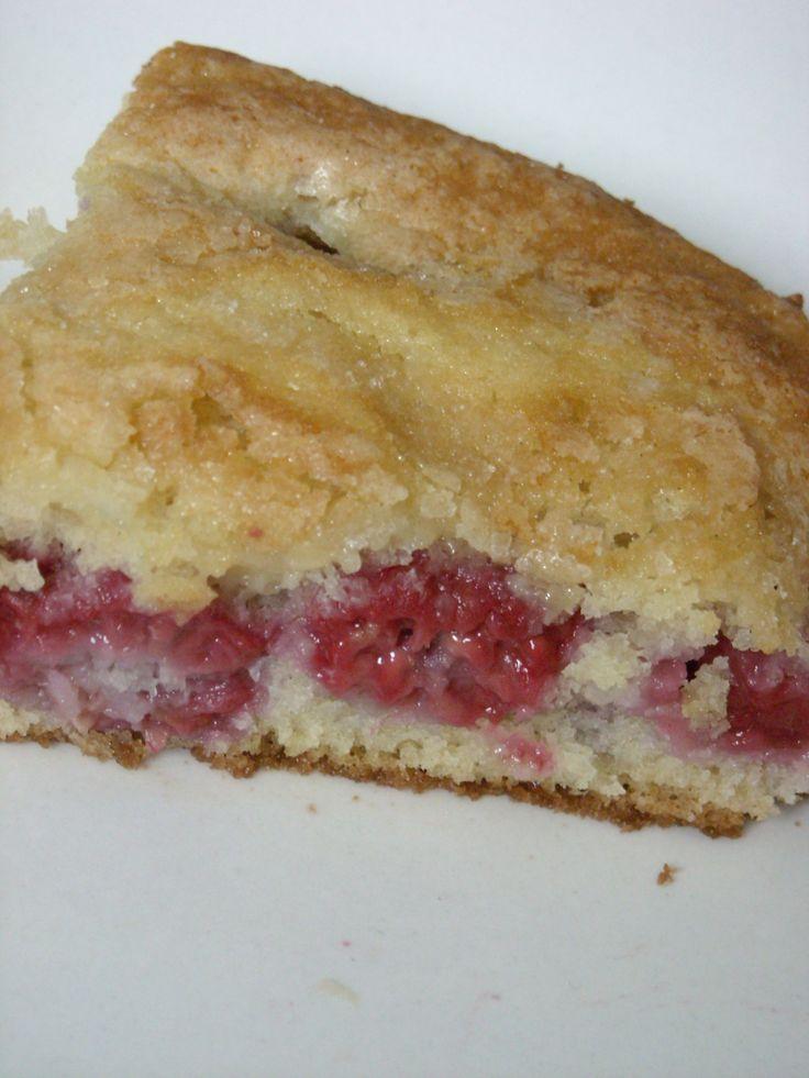 Raspberry Buttermilk Cake Recipe (Nutmeg Nanny)