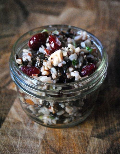 Wild Rice Salad | yummy treats | Pinterest