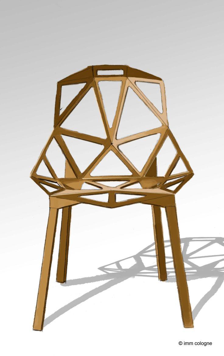 Chair one by konstantin grcic masterpieces of the past for Chair one grcic