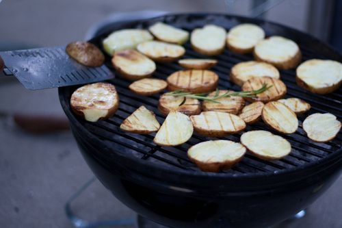 Rosemary Grilled Potatoes | Food | Pinterest