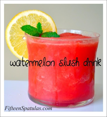 Yummy Watermelon Slush Drink-How Refreshing!