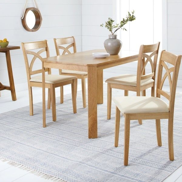 Simple Living Black 3piece Country Cottage Wood Dining Set