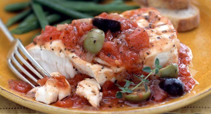 Mediterranean Fish Fillets | Recipe