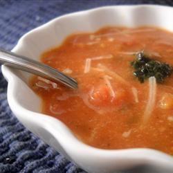 Smoked Chipotle Tomato Basil Soup | Recipes | Pinterest