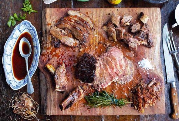Jamie Oliver's Sunday Roast | Recipes Savory | Pinterest