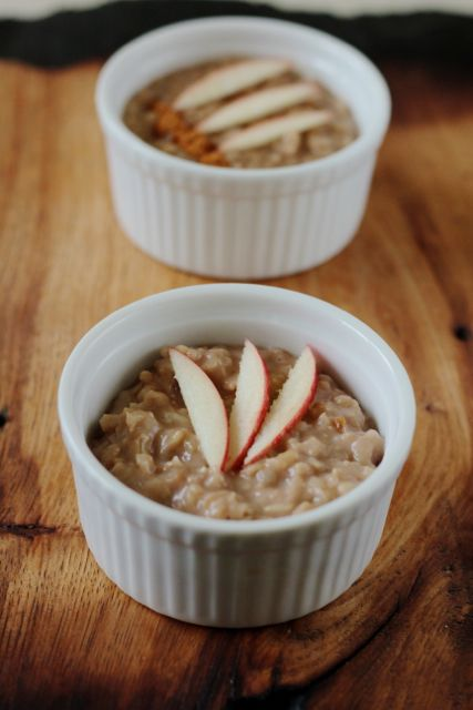 Apple Cinnamon Brown Rice Pudding | Amazing looking food | Pinterest