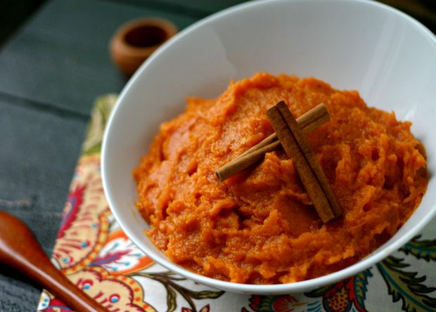 Maple Mashed Sweet Potatoes 3 pounds sweet potatoes 1 tablespoon ...