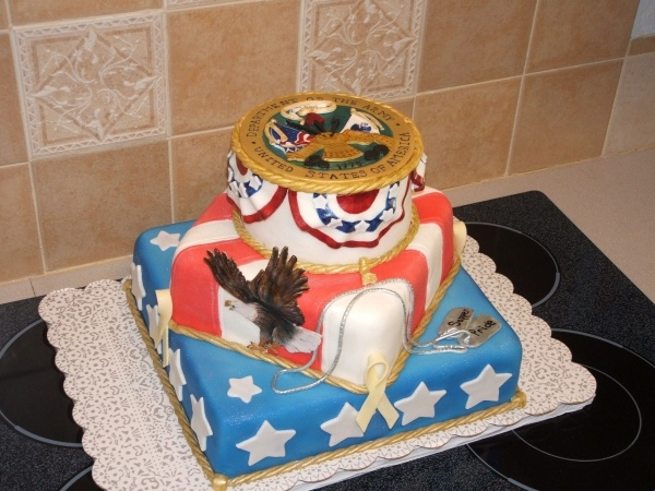 Army cake decorating ideas car interior design for Army cake decoration