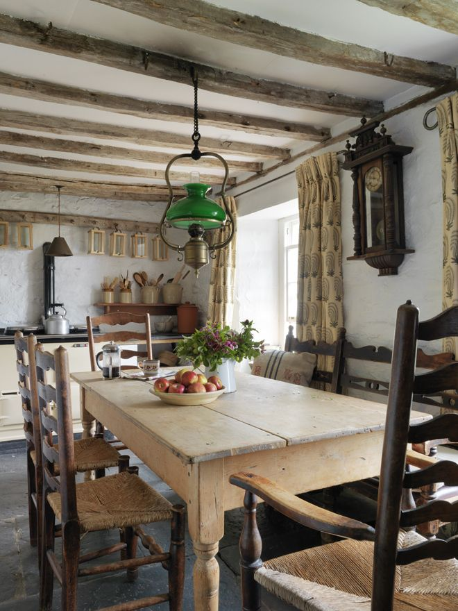 Country style farmhouse kitchen living in the country pinterest - Rustic farmhouse kitchen ...