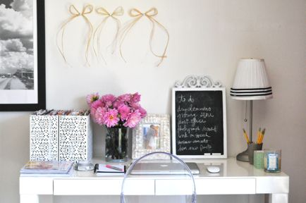 Home Office Envy - Where can I do this in my little apartment?