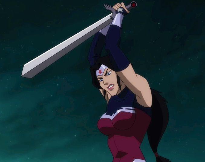 Wonder Woman from 'Justice League: War' | Cartoon WW Movie ...