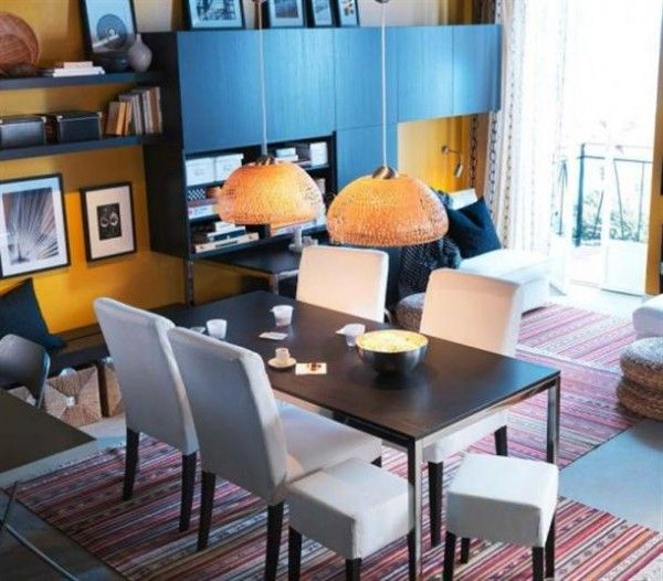 Ikea multi purpose dining room for the home pinterest for Multi use dining room ideas