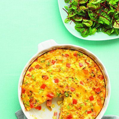 Heirloom Tomato, Ham And Fontina Frittata Recipes — Dishmaps