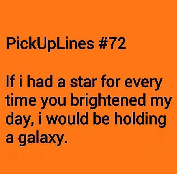 sweet pickup lines