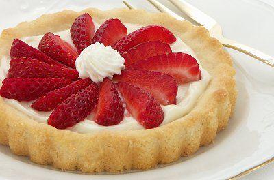 Tea With Grace: Recipes: Strawberry Cream Cheese Tarts