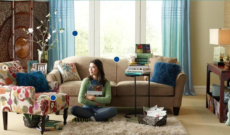 Pier 1 family slash living room living rooms pinterest for Pier 1 living room ideas