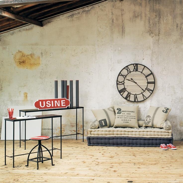 Horloge ardennes maisons du monde pinterest for Maison du monde english