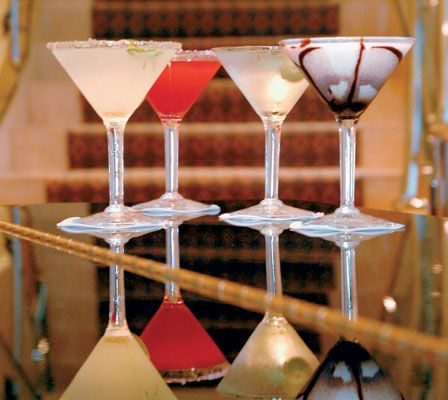 White Chocolate Mintini | Drinks | Pinterest