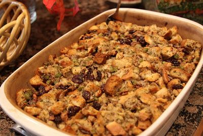 Cherry Pecan Stuffing | Recipes/Food/Drink | Pinterest