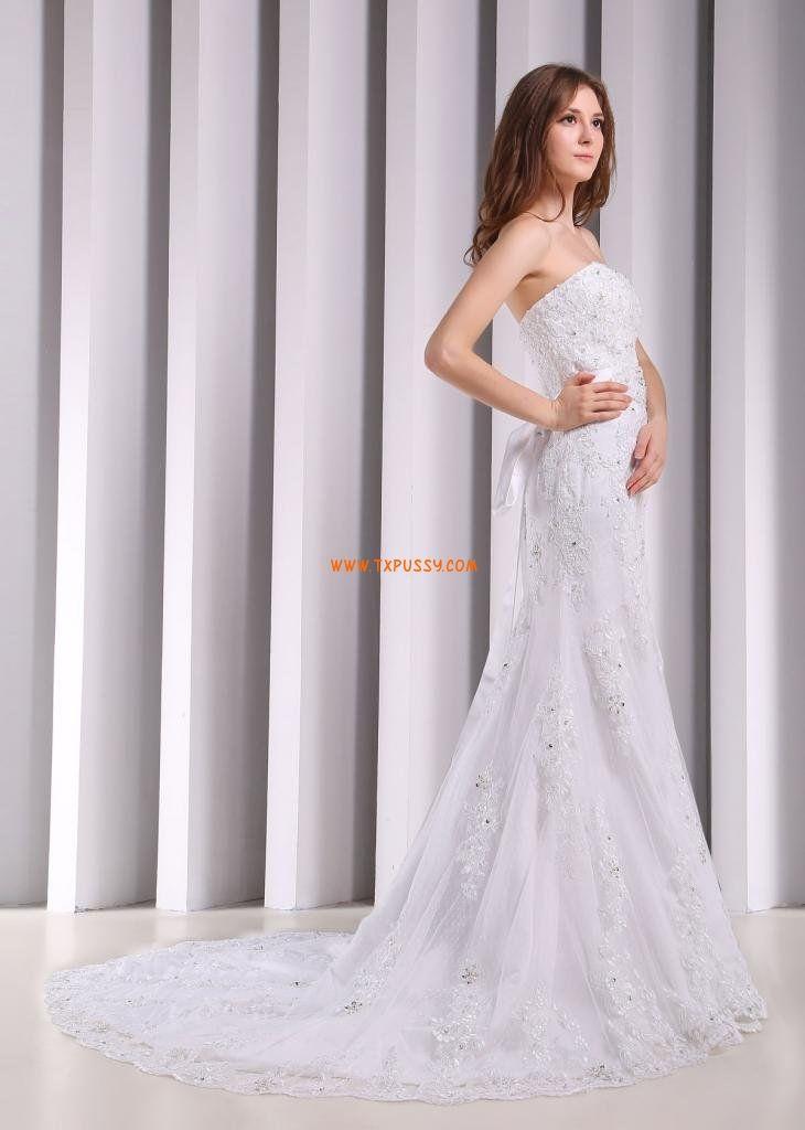 Fourreau Robe de mariée 2014  Robe de mariée classique  Pinterest