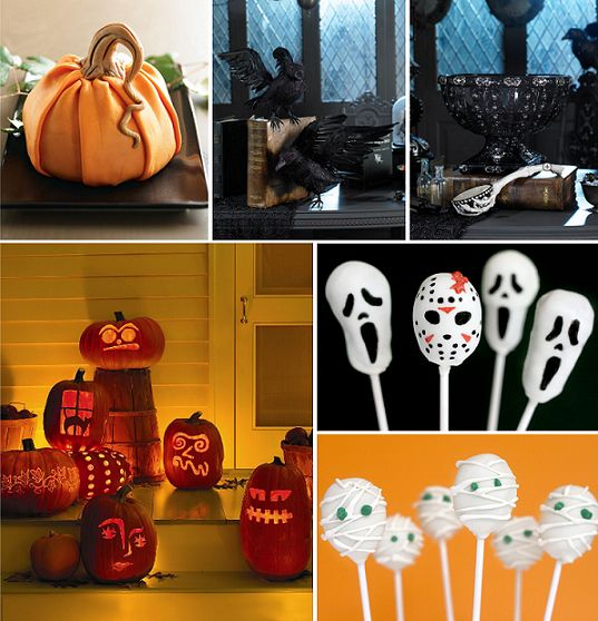 Halloween decoration ideas halloween pinterest for Decorations for halloween to make at home