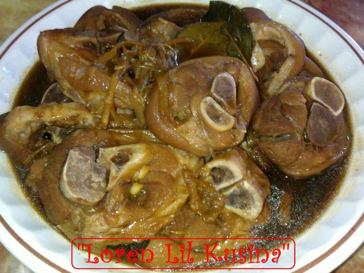 Filipino Braised Pork Adobo Recipe — Dishmaps