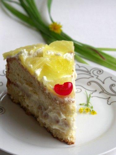 Pineapple Layer Cake | Pineapple Desserts | Pinterest