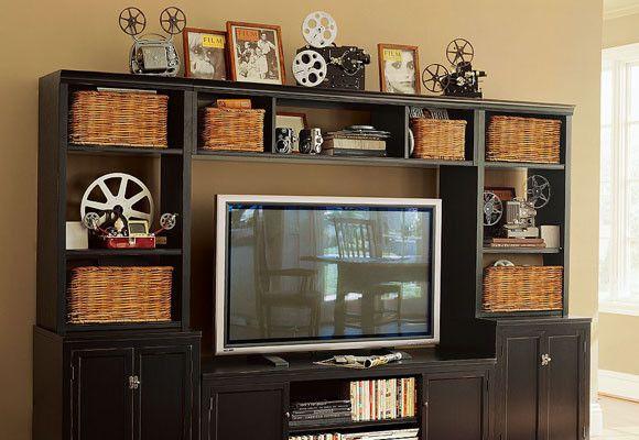 Muebles para la televisi n muebles pintados pinterest - Muebles de tele ...