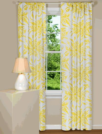 yellow and white curtains home decor pinterest