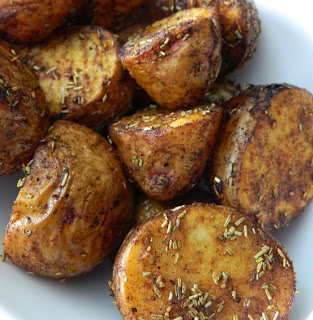 Aunt Nubby's Kitchen: Roasted Rosemary Potatoes