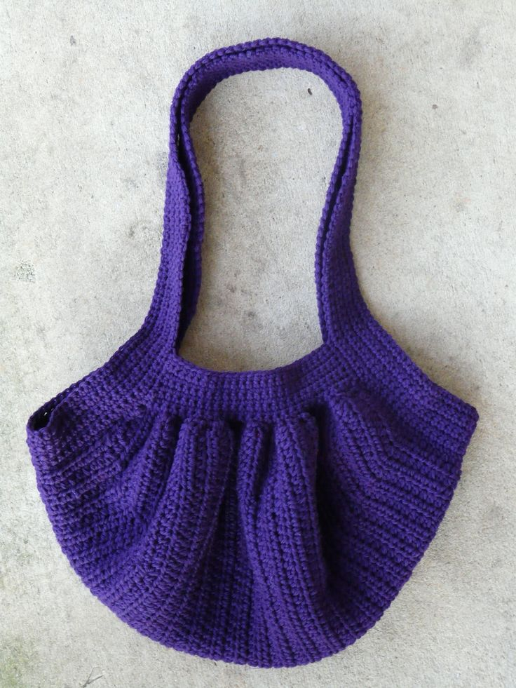 Small Crochet Pouch Pattern : The finished fat bag Bags, Purses, Baskets and More Pinterest