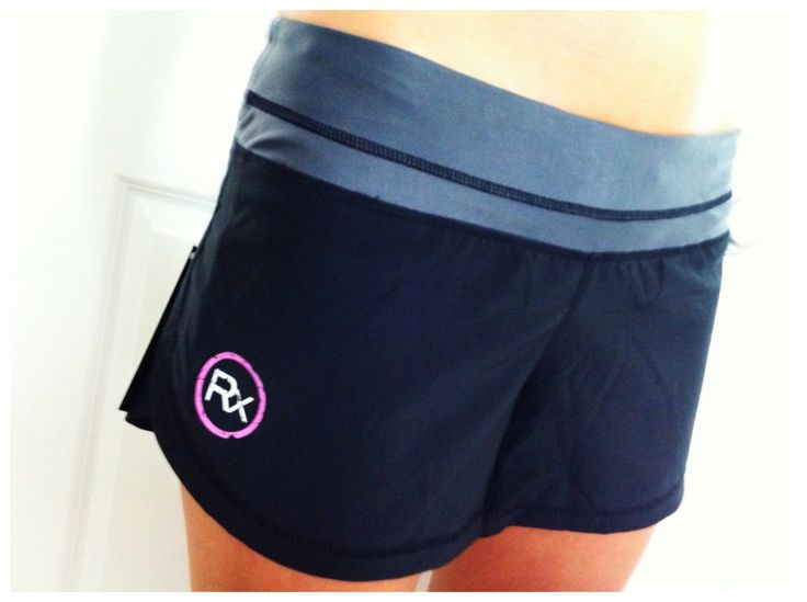Real Xtreme Rx Ladies WOD Shorts