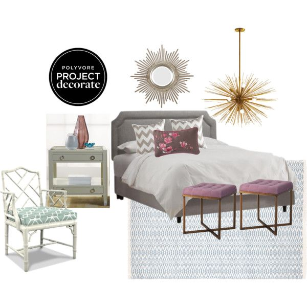 """Traditional Bedroom Glamour"" by blue11interiors on Polyvore"