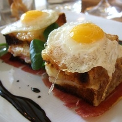 mini croque madame | eat | Pinterest