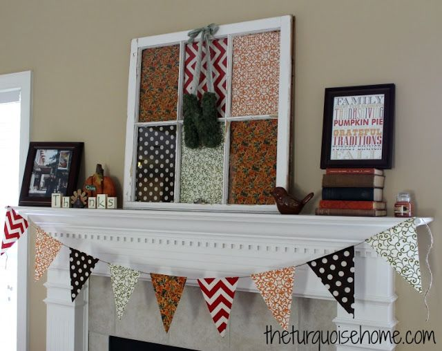 Fall Mantel {Reveal}