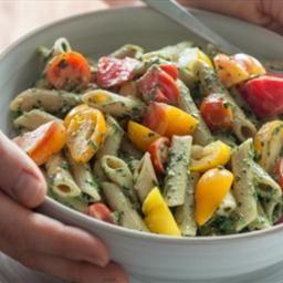 heirloom-tomato-and-creamy-pesto-pasta | Pasta | Pinterest