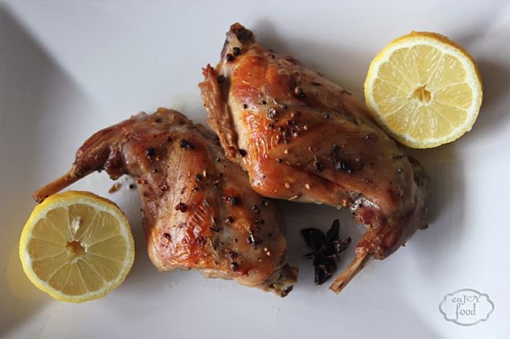Rabbit confit | Enjoy-food | Pinterest