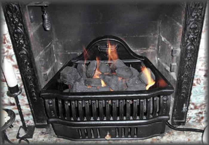 Coal Insert Gas Ideas For The House Pinterest