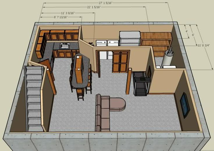 Pinterest discover and save creative ideas for Basement design layouts