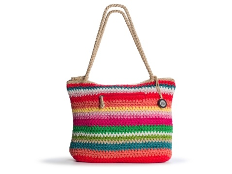 The Sak Crochet Tote : The Sak Classic Crochet Tote Crochet - purse/bag/tote Pinterest