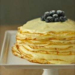 Meyer Lemon Curd Crepe Cake | Cakes, and Frostings | Pinterest