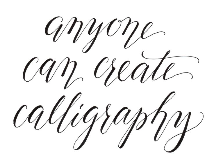 Cheating calligraphy tutorial fonts type pinterest Calligraphy tutorial